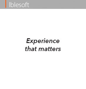 experience that matters
